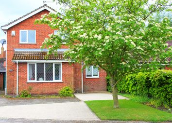 Thumbnail 4 bed detached house for sale in Kelfield Road, Riccall, York
