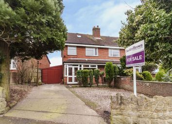 Thumbnail 3 bedroom semi-detached house for sale in Black Scotch Lane, Mansfield