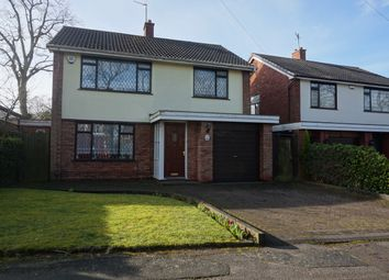 Thumbnail 3 bed detached house for sale in Moss Close, Walsall