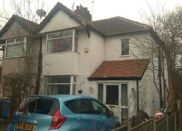 Thumbnail 3 bed semi-detached house to rent in Westdale Gardens, Manchester