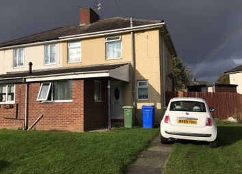 Thumbnail 3 bed semi-detached house to rent in Birchwood Close, Seghill, Cramlington