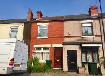Thumbnail 2 bedroom end terrace house to rent in Melbourne Rd, Earlsdon, Coventry