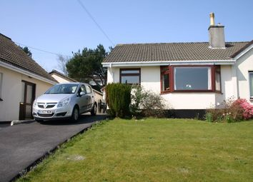 Thumbnail 2 bed semi-detached bungalow to rent in Cannis Road, St Austell, Cornwall