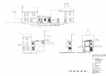 Thumbnail Land for sale in Building Plot, 1 Goldstone Street, Hove, East Sussex
