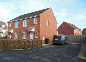 Thumbnail 3 bedroom semi-detached house to rent in Urquhart Road, Thatcham