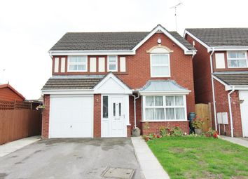 Thumbnail 4 bed detached house for sale in Laburnum Close, Rogerstone, Newport