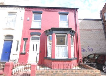 Thumbnail 3 bed end terrace house for sale in Gainsborough Road, Wavertree, Liverpool