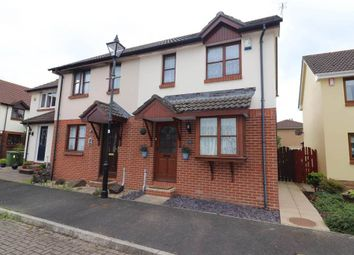 Thumbnail 2 bed semi-detached house for sale in Easter Court, Roundswell, Barnstaple