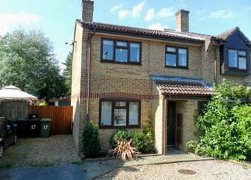 Thumbnail 3 bedroom semi-detached house to rent in Coniston Road, Bordon