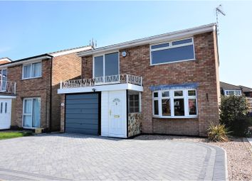 Thumbnail 4 bed detached house for sale in The Green, Castle Donington