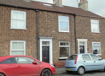 Thumbnail 3 bed terraced house to rent in St Johns Road, Driffield