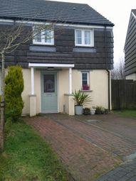 Thumbnail 2 bed semi-detached house for sale in Slate Close, Delabole