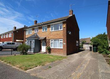 Thumbnail 3 bed semi-detached house to rent in Marlborough Way, Kennington, Ashford