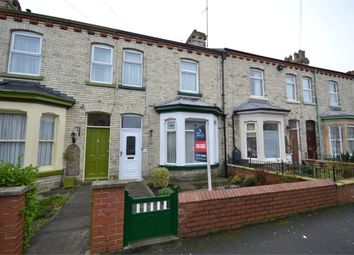 Thumbnail 3 bed terraced house for sale in Gladstone Street, Scarborough, North Yorkshire