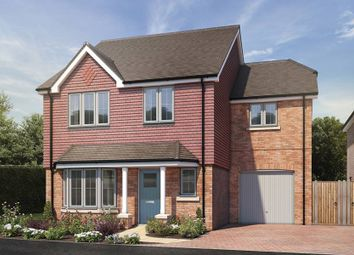 "Thumbnail 4 bedroom detached house for sale in ""The Lulworth"" at St. Legers Way, Riseley, Reading"