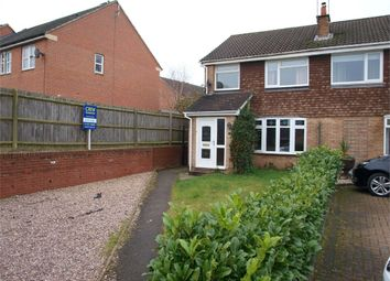 Thumbnail 2 bed semi-detached house for sale in The Eyrie, Burton-On-Trent, Staffordshire