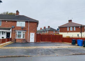 Thumbnail 3 bed end terrace house for sale in Regan Crescent, Erdington, Birmingham