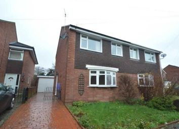 Thumbnail 3 bedroom semi-detached house for sale in Whitecroft Road, Shrewsbury