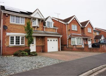 Thumbnail 4 bed detached house for sale in Fossard Way, Scawthorpe, Doncaster