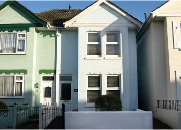 Thumbnail 2 bed semi-detached house for sale in Stourvale Road, Bournemouth