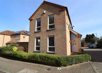 Thumbnail 3 bed detached house for sale in Dulverton Drive, Furzton, Milton Keynes