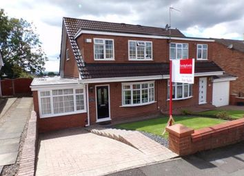 Thumbnail 3 bed semi-detached house for sale in Wordsworth Close, Dukinfield, Greater Manchester