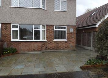Thumbnail 2 bedroom flat to rent in Woodside Close, Rainham