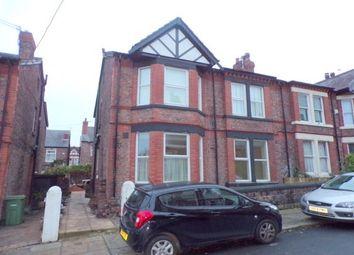 Thumbnail 1 bed flat to rent in 13 Marlborough Grove, Prenton