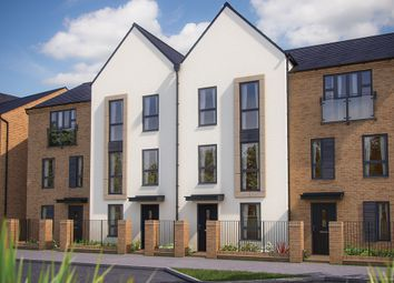 "Thumbnail 3 bed town house for sale in ""The Winchcombe"" at Barrosa Way, Whitehouse, Milton Keynes"
