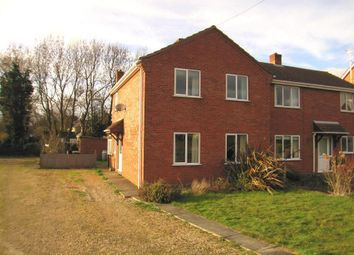 Thumbnail 3 bed semi-detached house to rent in Bull Bridge, Upwell, Wisbech