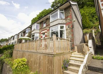 Thumbnail 3 bed semi-detached house for sale in Rhyswg Road, Abercarn, Newport
