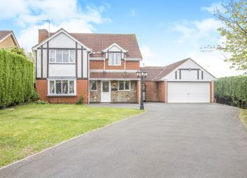 Thumbnail 5 bed detached house for sale in Stamford Drive, Groby, Leicester