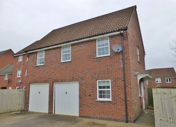 Thumbnail 2 bed detached house to rent in Goldfinch Road, Uppingham, Oakham