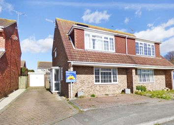 Thumbnail 4 bed semi-detached house for sale in Lavinia Way, East Preston, Littlehampton