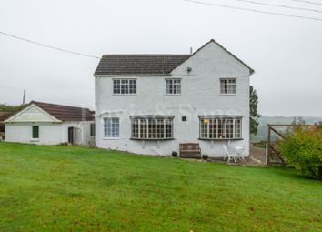 Thumbnail 4 bed detached house for sale in Caerlicyn Lane, Langstone, Newport, Gwent.