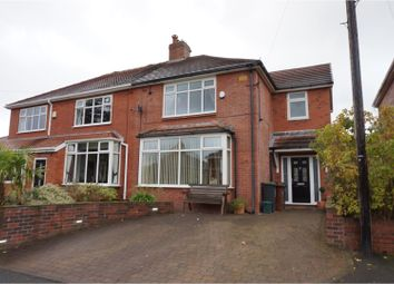 Thumbnail 4 bed semi-detached house for sale in Harton Close, Oldham