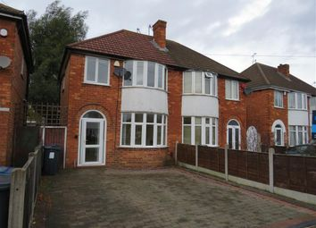 Thumbnail 3 bed semi-detached house to rent in Church Road, Sheldon, Birmingham