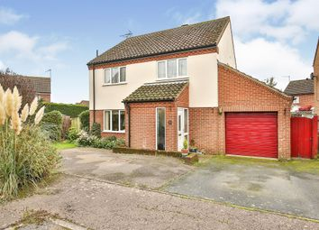 Thumbnail 3 bed detached house for sale in Brancaster Way, Swaffham