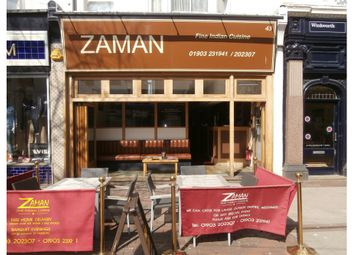 Thumbnail Commercial property for sale in Warwick Street 43, Worthing, West Sussex