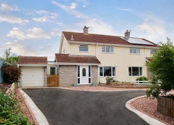 Thumbnail 3 bed semi-detached house for sale in King William Road, Catcott, Bridgwater