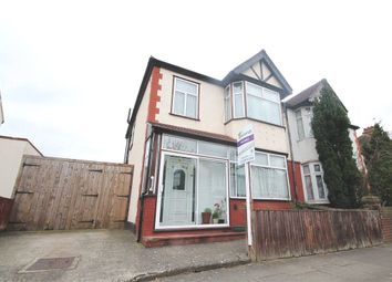 Thumbnail 3 bed semi-detached house for sale in Clitherow Avenue, Hanwell, London