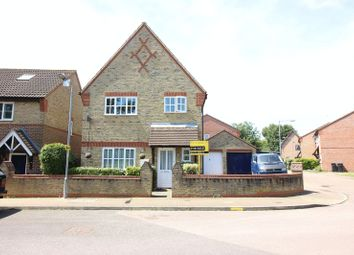 Thumbnail 3 bed detached house for sale in Coalport Close, Church Langley