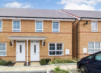Thumbnail 3 bed semi-detached house for sale in Fells Paddock, Marston Moretaine, Bedford