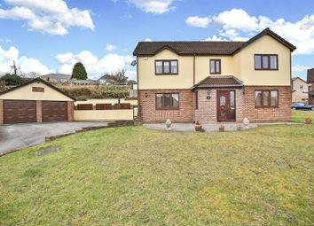 Thumbnail 5 bedroom detached house for sale in Kingsacre, Llantwit Fardre, Pontypridd