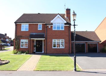 Thumbnail 4 bed detached house for sale in Mancetter, Nr Atherstone, Warwickshire