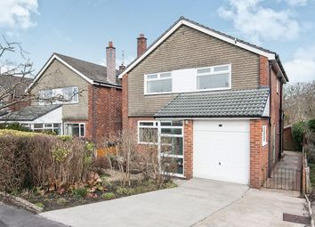 Thumbnail 3 bed detached house for sale in Fairfax Close, Marple, Stockport