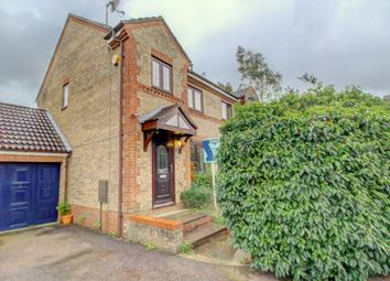 Thumbnail 3 bed semi-detached house for sale in Goathland Croft, Emerson Valley, Milton Keynes