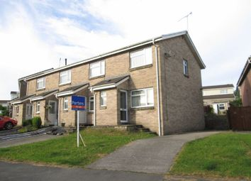 Thumbnail 2 bedroom end terrace house to rent in Rectory Close, Sarn, Bridgend