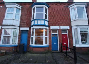 Thumbnail 2 bedroom terraced house to rent in Haddenham Road, Leicester