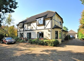 Thumbnail 4 bed detached house for sale in Castle Rising Road, South Wootton, King's Lynn